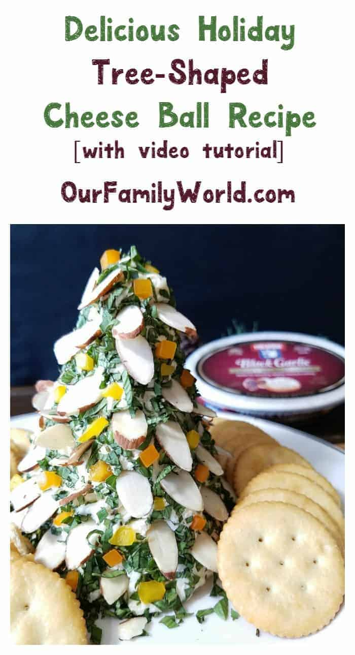 Looking for an easy yet festive recipe for your Christmas parties? Whip up this amazing tree-shaped cheese ball, made with creamy Finlandia cheese! Check it out!