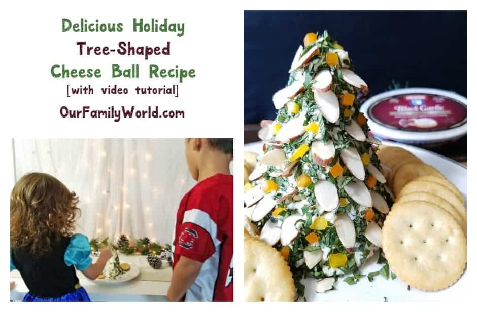 Looking for an easy yet festive recipe for your holiday parties? Whip up this amazing tree-shaped cheese ball, made with creamy Finlandia cheese! Check it out!
