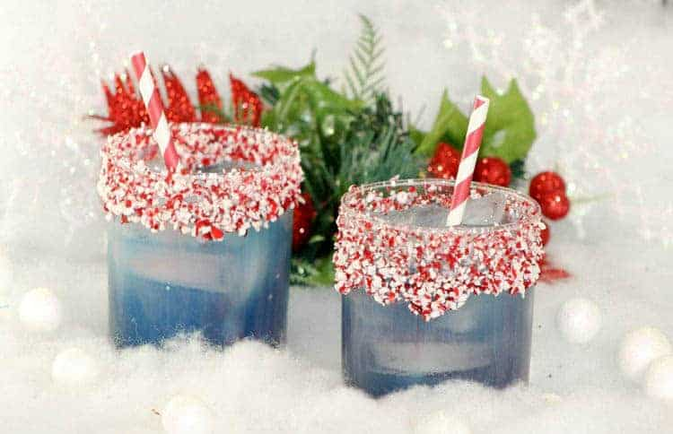 North Pole Mocktail Perfect for Your Next Christmas Party