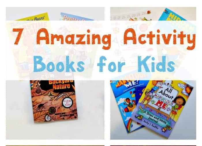 Keep kids busy during the holiday travel season with 7 amazing activity books that will keep them from asking