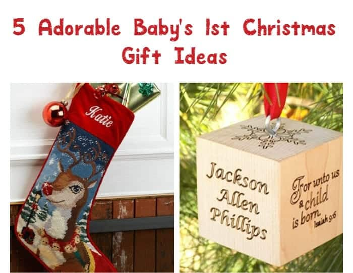 Looking for the perfect gift ideas for baby's first Christmas? Check out these 5 adorable presents for your littlest one!