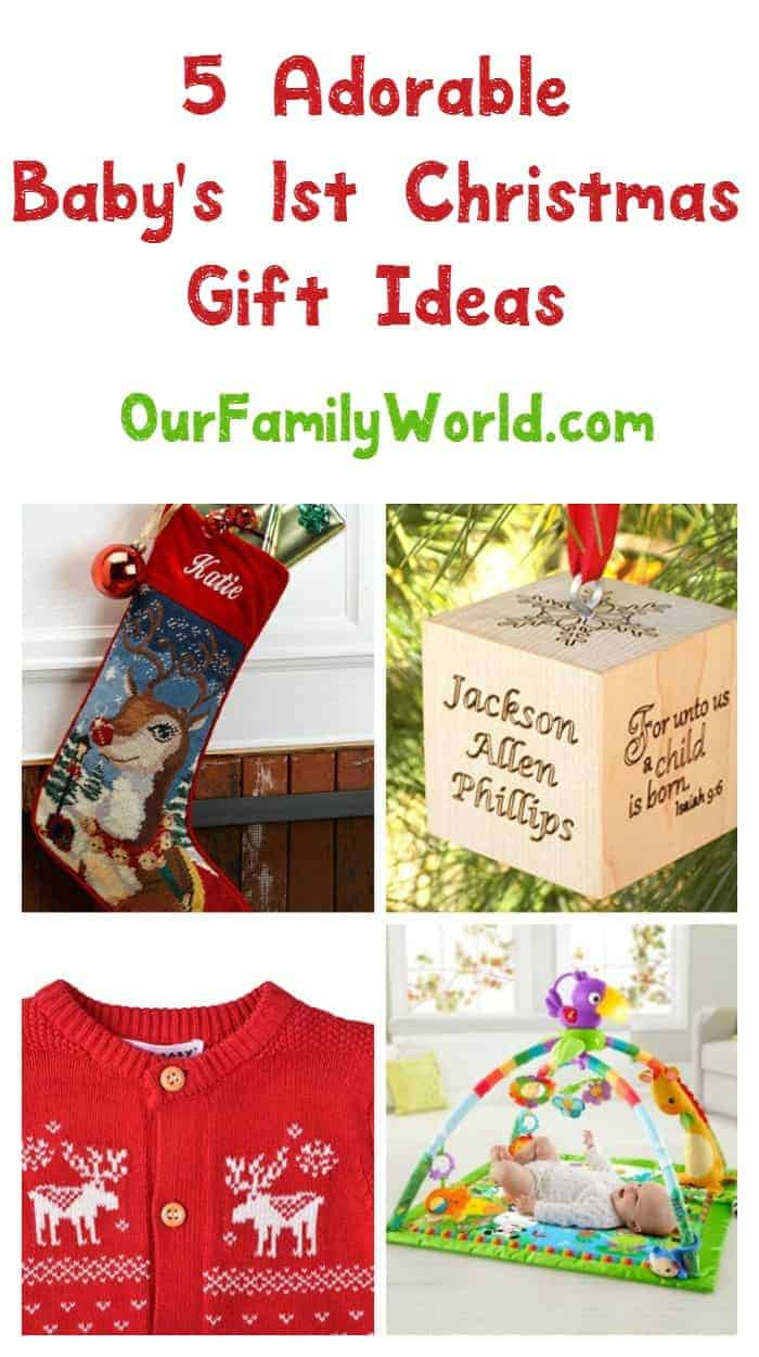 Looking For The Perfect Gift Ideas For Babyu0027s First Christmas? Check Out  These 5 Adorable