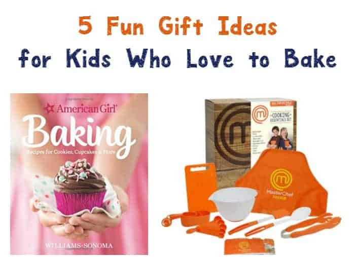 Looking for fabulous gift ideas for kids who love to bake? Encourage their culinary aspirations with these 7 fun presents!
