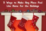 How can you make any place feel like home for the holidays? Check out 5 of our favorite tips, inspired by Finding Dory!