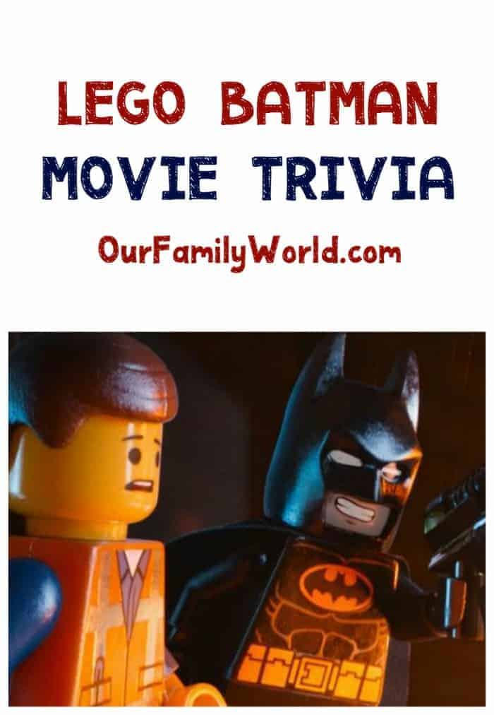 The Lego Batman Movie Trivia: Check out all these fun facts & trivia tidbits about the upcoming Lego Batman movie!