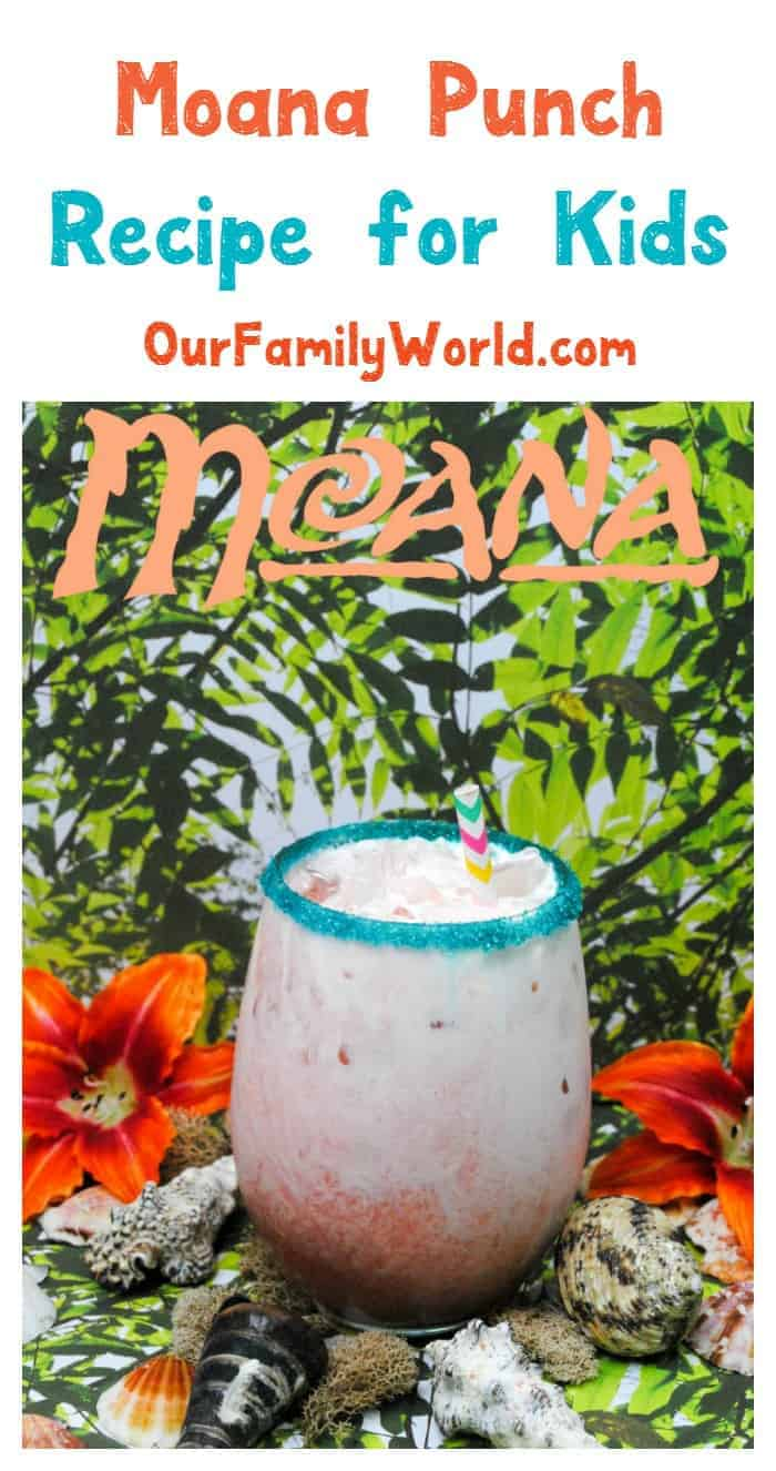 Hosting a party inspired by Disney's latest princess? Check out our non-alcoholic Moana punch recipe for kids that adults will love just as much!