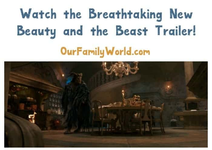 The new Beauty and the Beast trailer is absolutely breathtaking! Check it out, plus see stunning stills from the film!