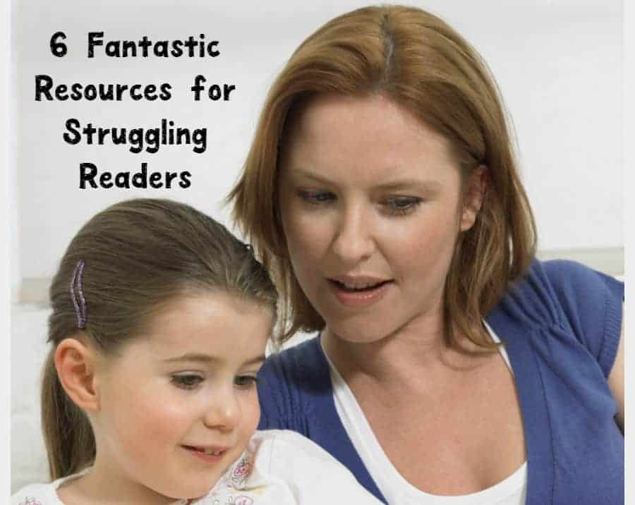 Is your child having a tough time learning to read? Check out 7 of our favorite resources for struggling readers!