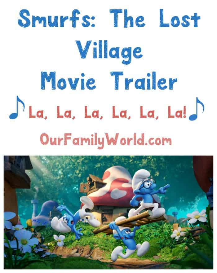 Smurfs: The Lost Village movie trailer is here and we have a sneak peek at it just for you! Check it out!