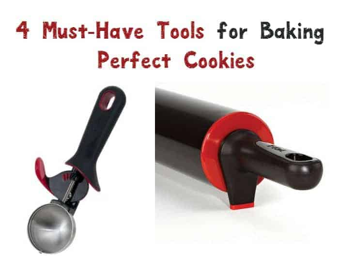 Getting ready to bake up a storm for the holidays? Check out these four must-have tools for making perfect cookies!
