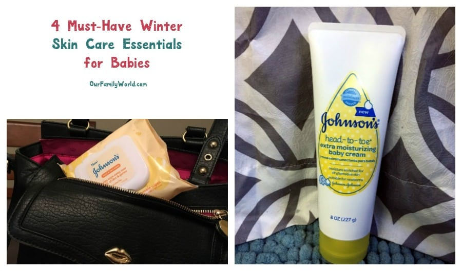 Keep your baby's skin soft and moist throughout the dry winter months with these four must-have products from JOHNSON'S®! Check them out!