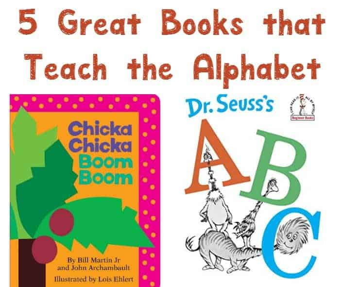 Working on getting your little one ready for preschool? Check out these 5 terrific books that teach the alphabet to kids!