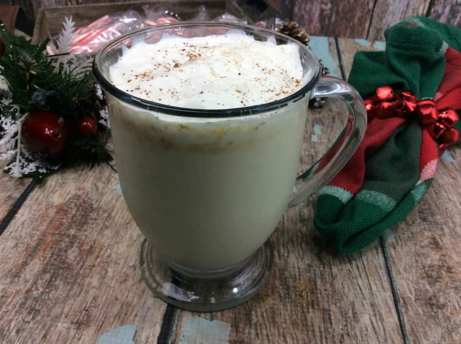 The holidays wouldn't be complete without eggnog, right? It's kind of a staple of the season! We have a delicious eggnog virgin drink that is just perfect for the kids (and non-drinking adults!) at your holiday parties!