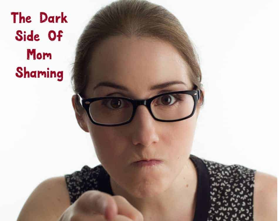 There's a huge dark side of mom on mom shaming. Find out what it is and start supporting each other instead!