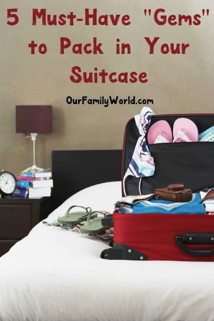 Getting ready for your family vacation? Check out 5