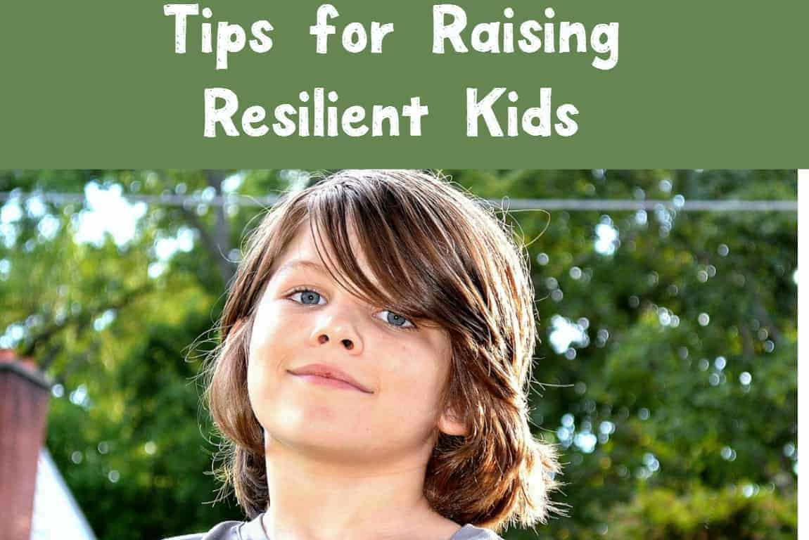 How do you make sure your kids grow up to be able to handle anything? Check out parenting tips for raising resilient kids in an uncertain world!