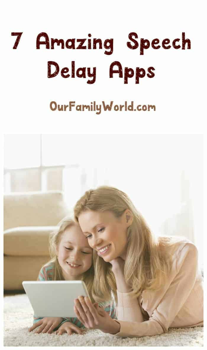 Looking for a few good speech delay apps to help get your tot talking? How about 7? Check out our picks for the best of the best!