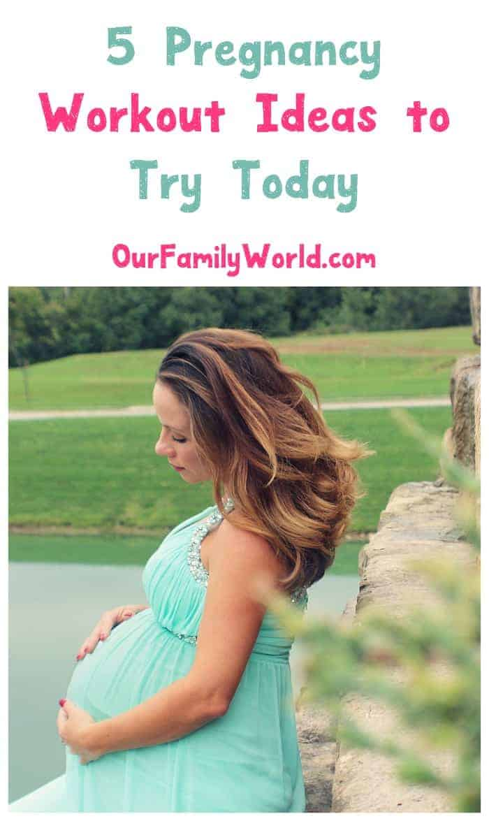 These 5 pregnancy workout ideas will keep your prenatal body in top shape! Check them out now!