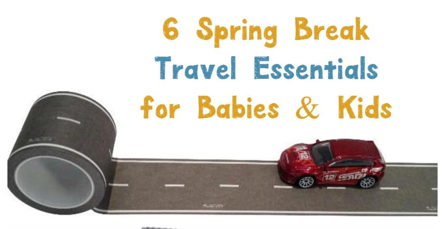 Planning a vacation with tiny tots? Get a jump on your planning with these six spring break travel essentials for babies & kids!