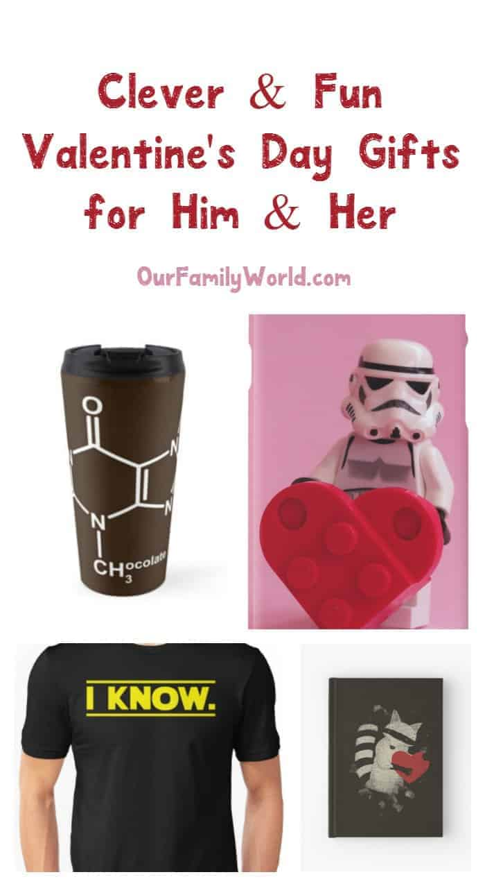 Think outside the box of chocolates with these clever & fun Valentine's Day Gift Ideas him and her! Check them out!