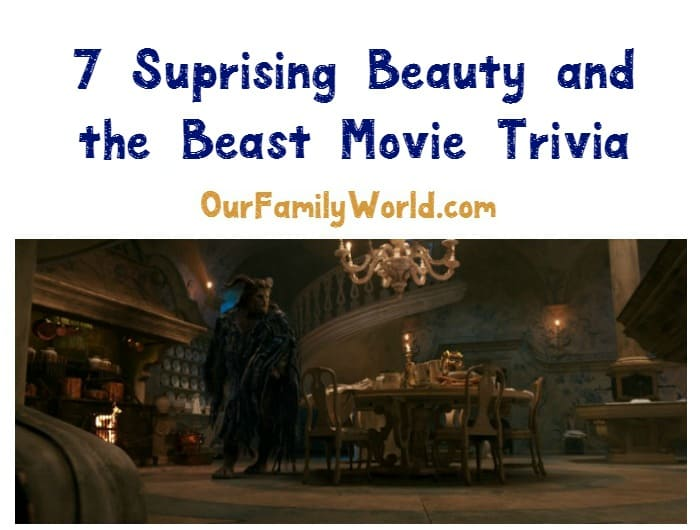 Love these Beauty and the Beast movie trivia! This is going to be one of the best movies to watch this year! Check it out!