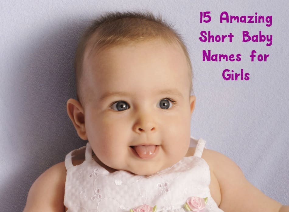 Want a name that's easy for your tiny tot to spell later in life? Check out these adorable short baby names for girls, along with their meanings!