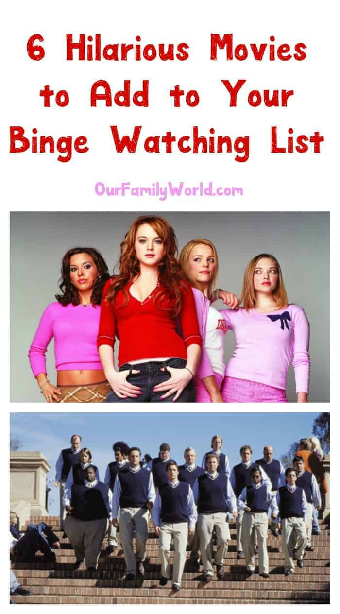 Laughter truly is the best medicine! Get your daily dose with one of these six hilarious movies to add to your binge watching list! Check them out now!