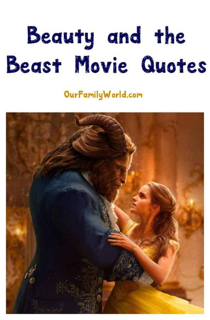 The final trailer for the long-awaited film is here, and to celebrate we're sharing a few of our favorite Beauty and the Beast movie quotes! Check them out!
