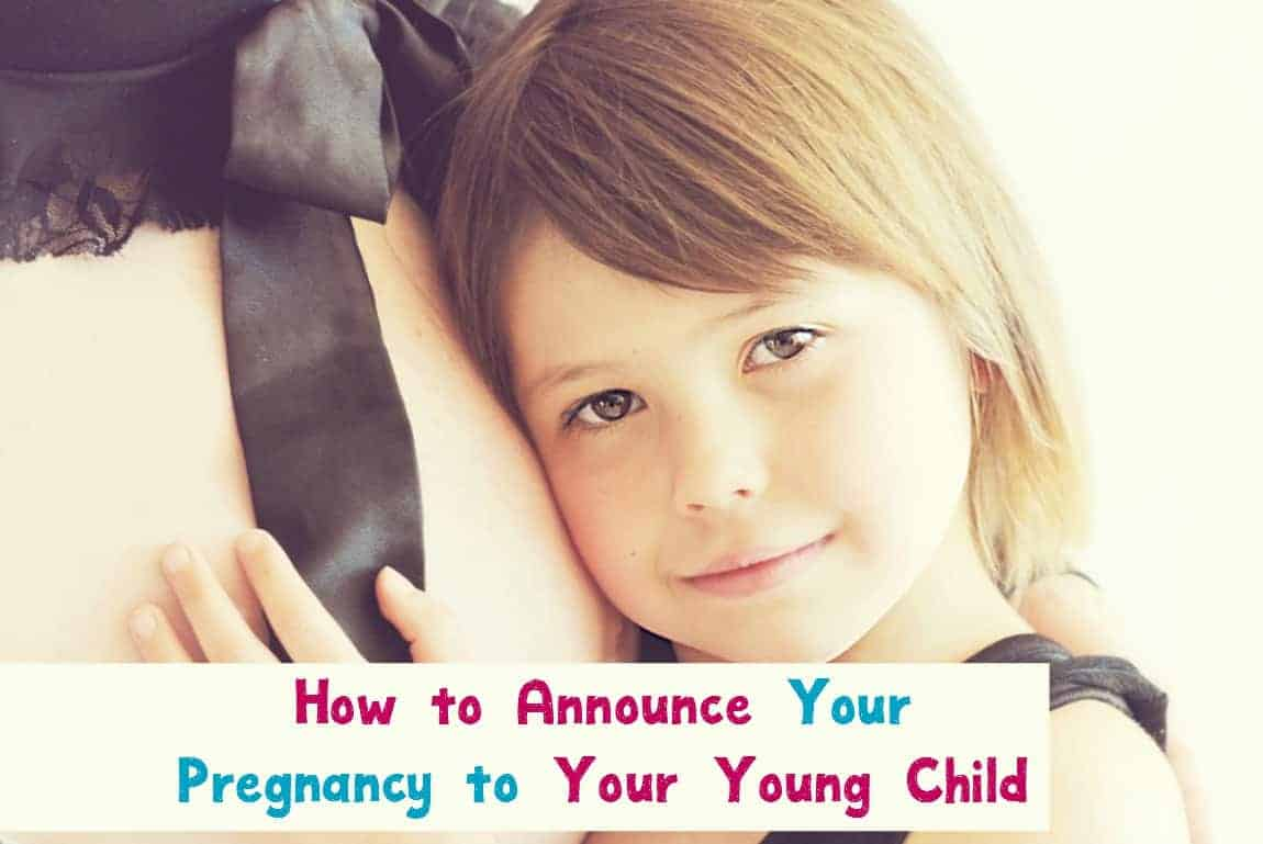 Share the news about your pregnancy with your young child with our parenting tips for telling your little one that they're going to be an older sibling! Check them out!
