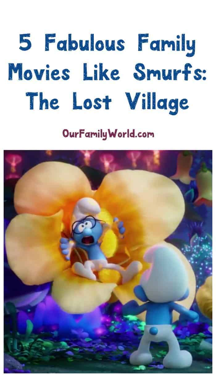 Looking for more great movies like Smurfs: The Lost Village? Check out these five fabulous family movies to watch!
