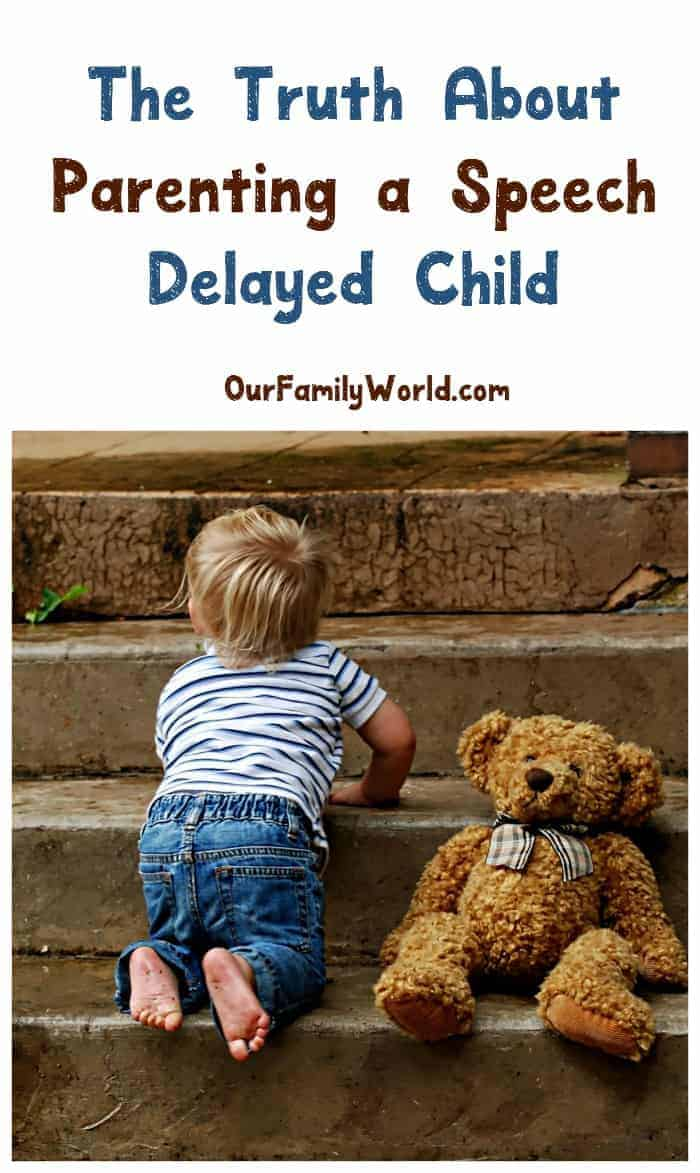 Coping with a speech delay in kids can challenge you in ways you never thought possible. Learn the truth about what to expect from a mom who has been there.
