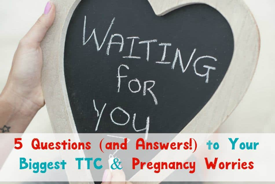 Planning to get pregnant? Check out the answers to five of your most burning questions about trying to conceive and pregnancy!