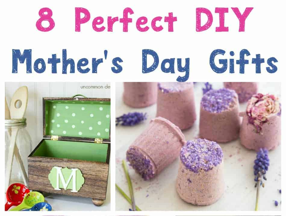 These 8 DIY Mother's Day gifts are so perfect, you'll want to keep them for yourself! No worries! They're easy enough to make two! Check them out!