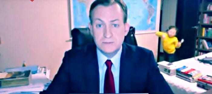 Hilarious video of Children Adorably Interrupting Their Father's Interview