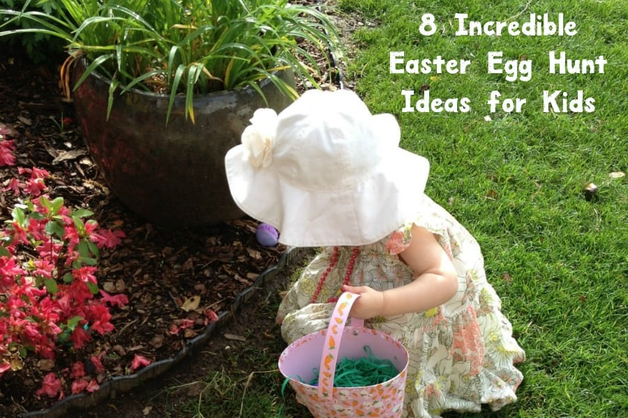 Looking for a few good Easter egg hunt ideas for kids of all ages? Check out these 8 ideas that will ensure your guests have a blast!