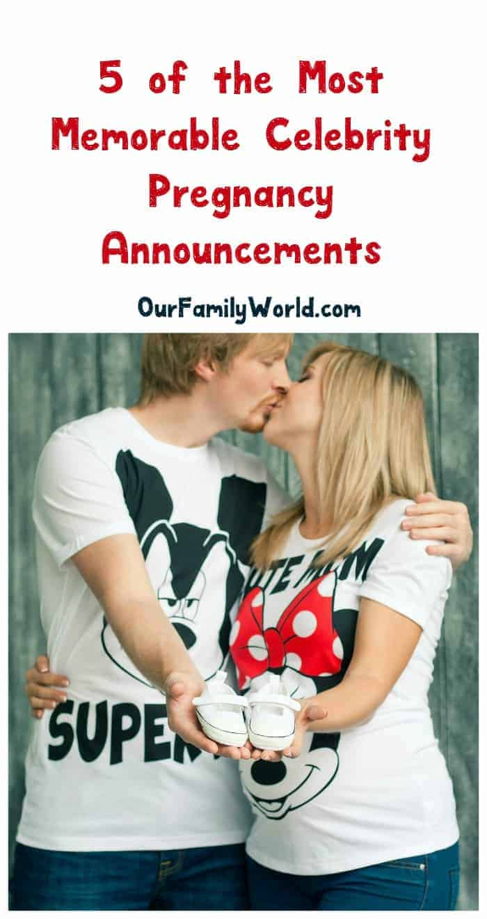 In a sea of celebrity pregnancy announcements, some definitely stand out more than others. Check out 5 of the most memorable ever!