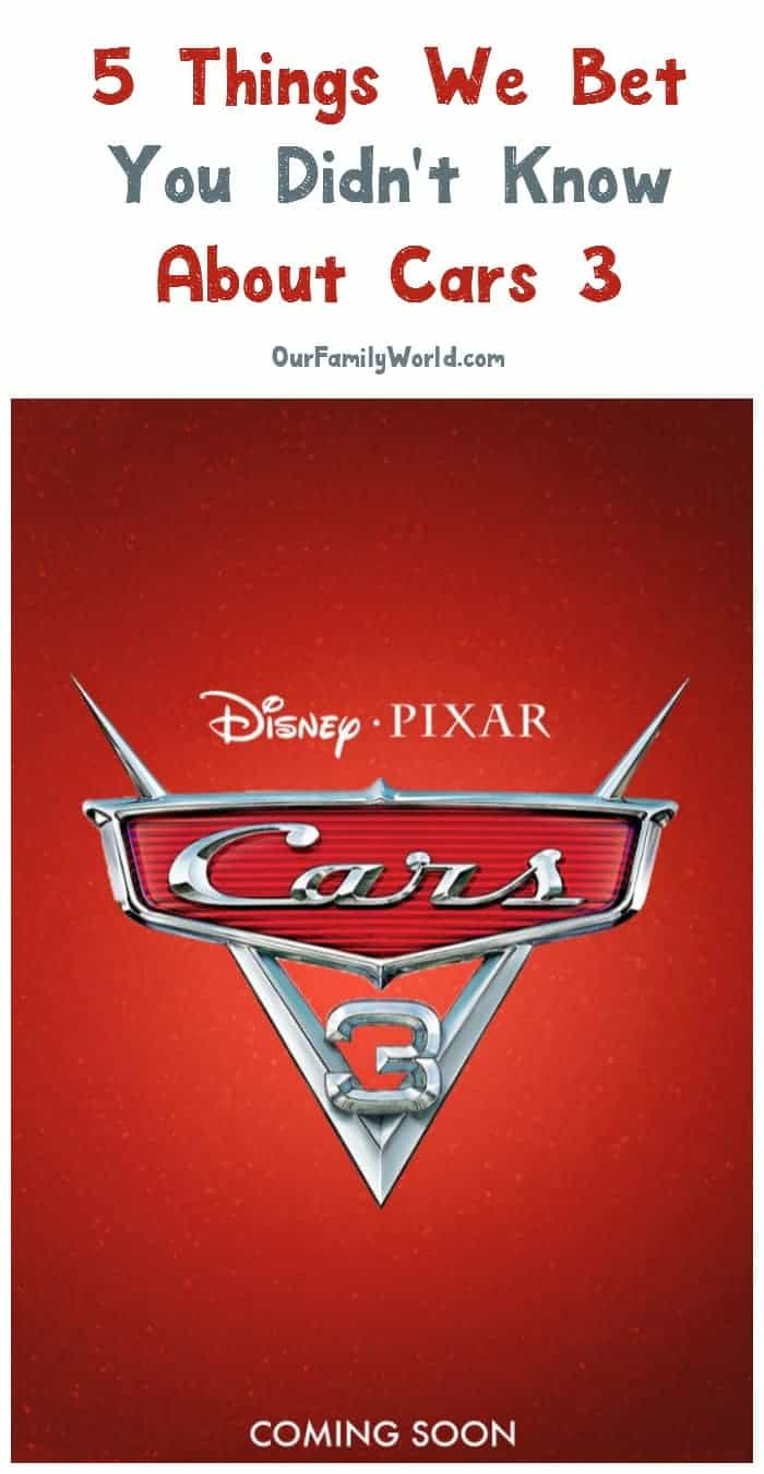 Think you're a Lightning McQueen genius? Check out 5 Car 3 movie trivia I bet you didn't already know!