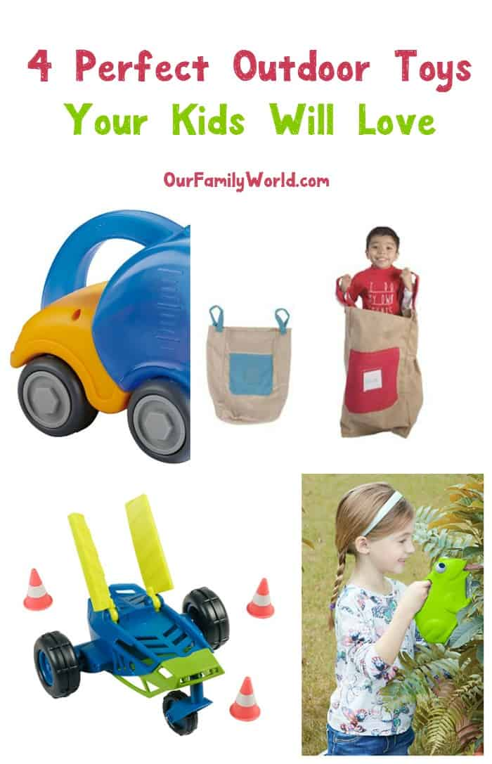 Keep kids engaged & entertained during family picnics with these 4 outdoor toys for toddlers & preschoolers that they'll absolutely love. Check them out!