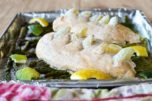 Tired of eating the same old go-to recipes for dinner every week? You have to try this insanely delicious sheet pan lemon lime chicken with asparagus! Check it out!