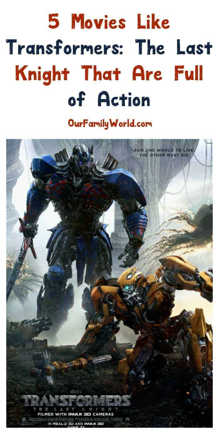 Looking for more great family movies like Like Transformers: The Last Knight? Check out these 5 action-packed picks!