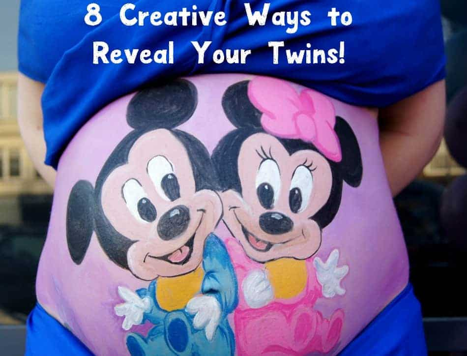 Tell your family you're baking more than one bun in the oven with these 8 creative ways to reveal your twins! Check them out!