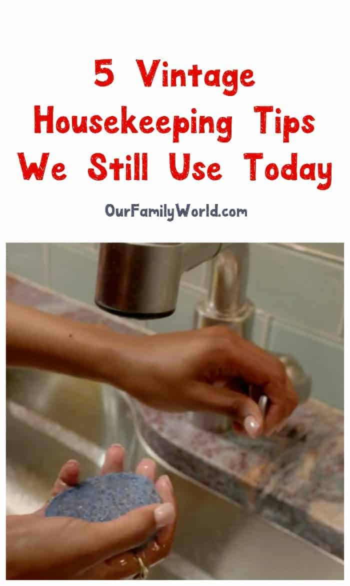These vintage housekeeping tips stood the test of time for a good reason! Check them out and clean like your great-greats!