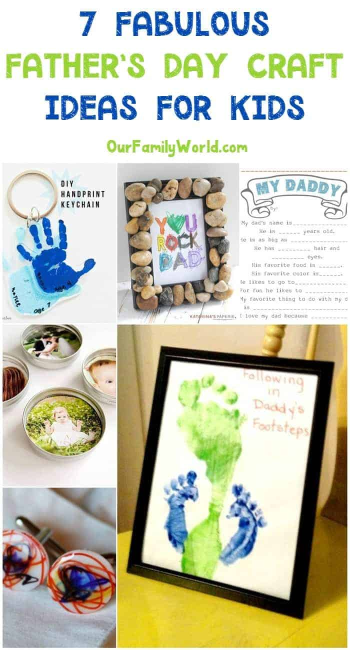 7 Fabulous Hair Magazines You Ve Got To Flip Through Hair: 7 Fabulous Father's Day Craft Ideas To Make With Kids