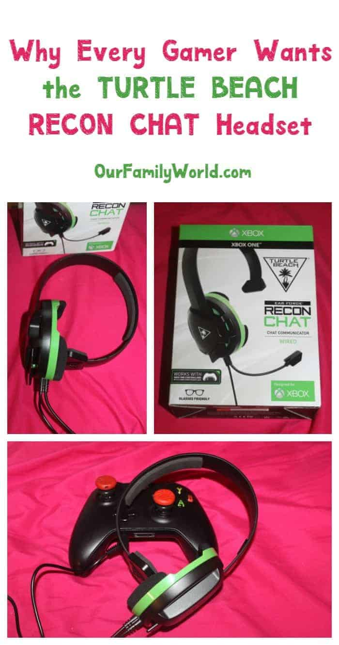 Looking for an amazing chat headset that doesn't cost a fortune? Find outwhy all the gamers will want the Turtle Beach RECON CHAT headset!