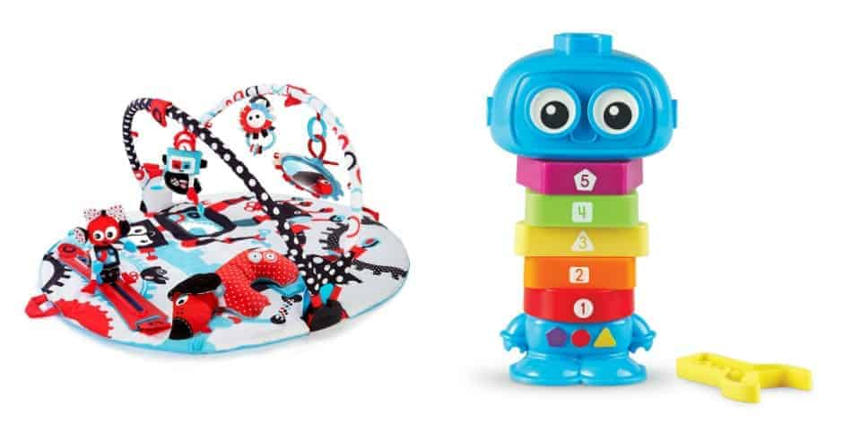 Help your little one reach those milestone with these four fabulous developmental toys for kids of all ages! Check them out!