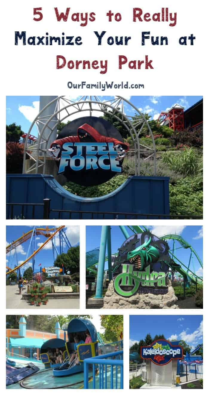 Dorney Park has something exciting for every member of your family! Check out our tips for how to maximize your fun (and budget) at Dorney!
