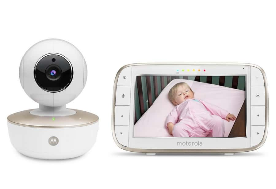 watch your baby dream in vivid detail with motorola mpb855 connect baby monitor giveaway our. Black Bedroom Furniture Sets. Home Design Ideas