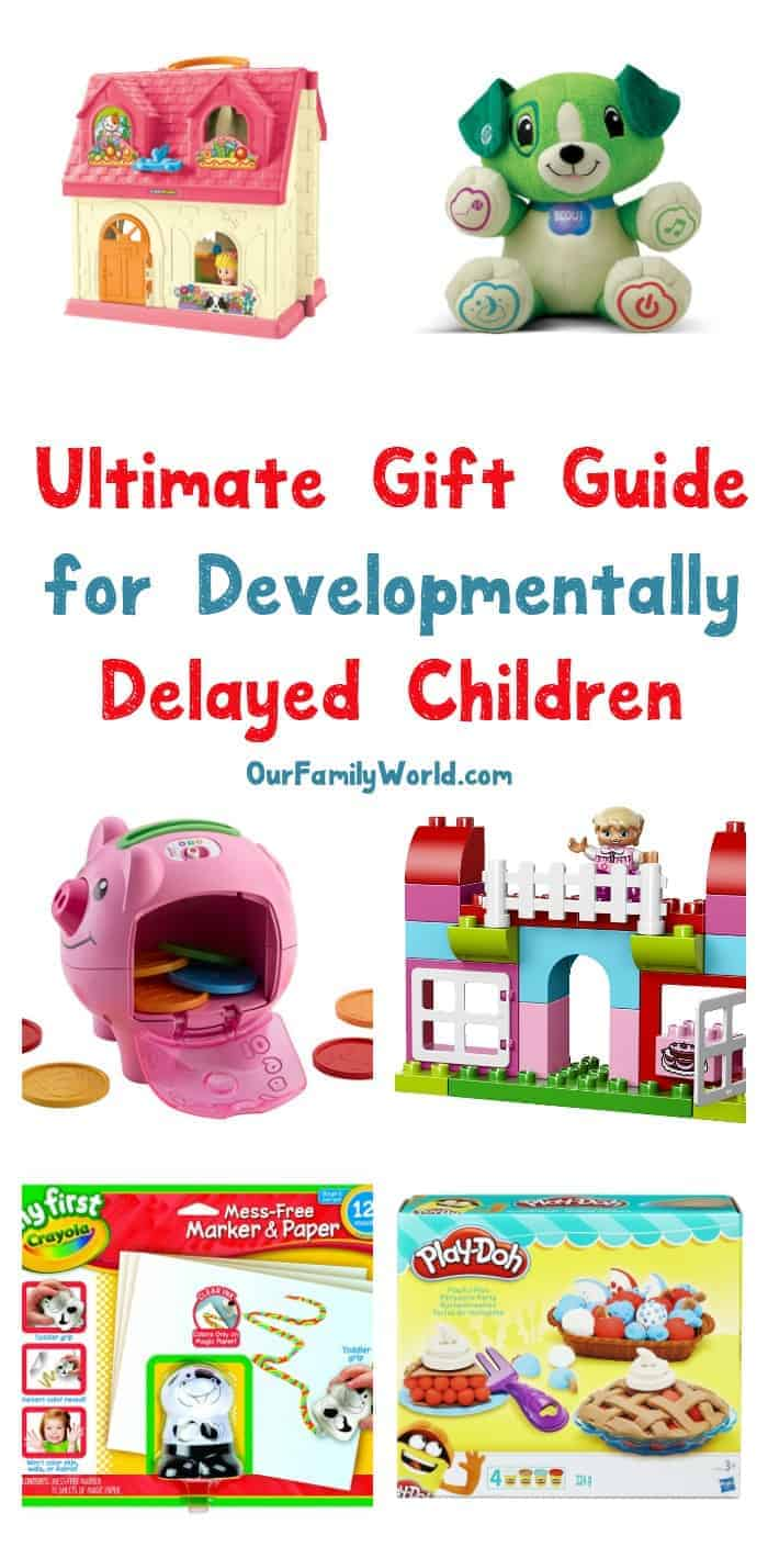 We've taken the challenge out of finding gift ideas for developmentally delayed children! Check out our favorites along with some dos and don'ts!
