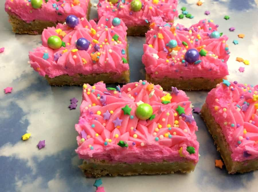 We told this cookie it could be anything, so it became a unicorn! Grab our unicorn bar sugar cookies recipe and let the magic begin! Perfect for parties!