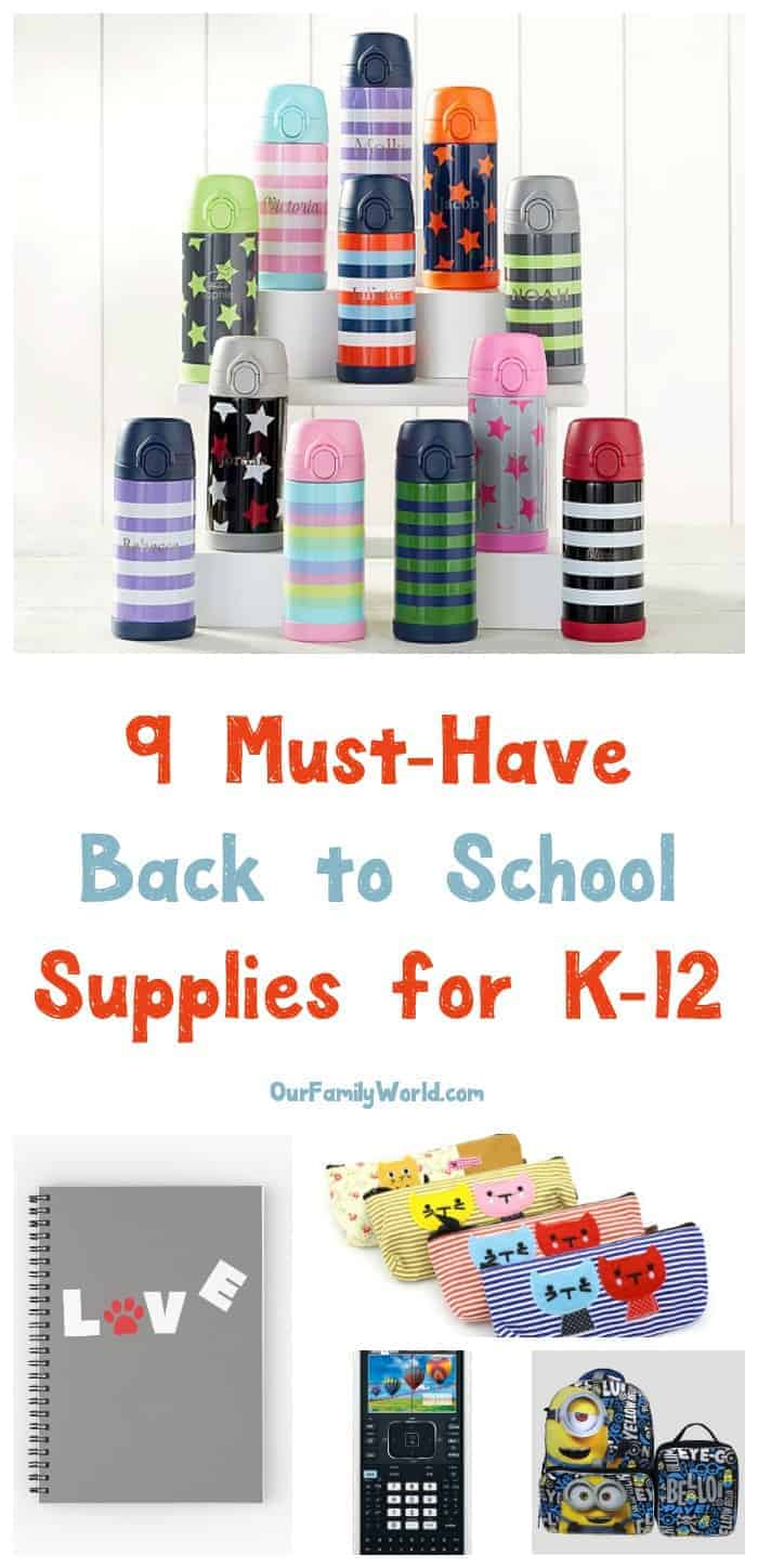 Get a head start on your fall shopping and grab the coolest back to school supplies for all ages before they're sold out! We've rounded up our top picks from K-12! Check them out!